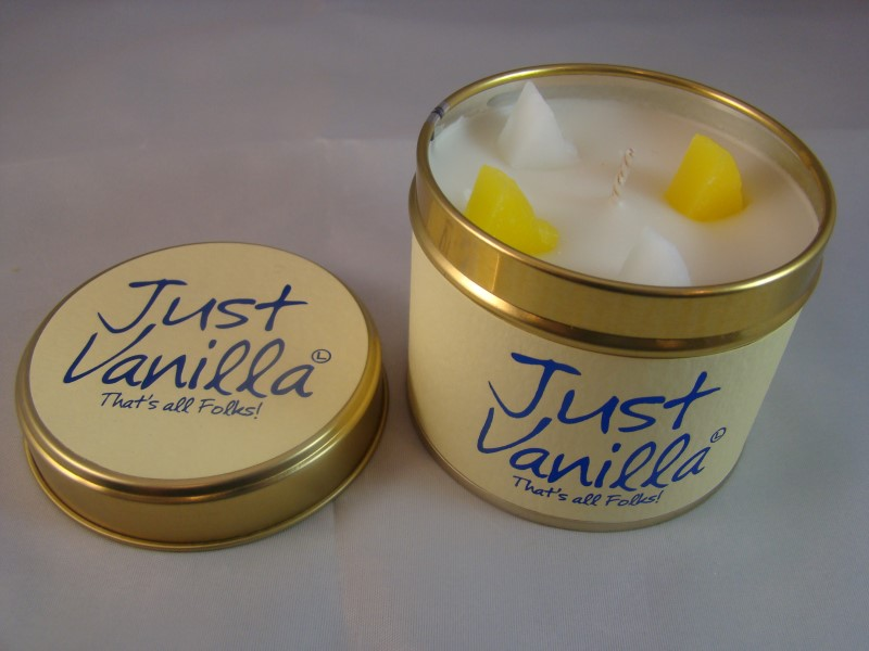 Just vanilla scented candle